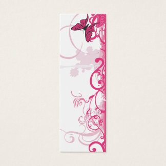 Pink butterfly Profile Card