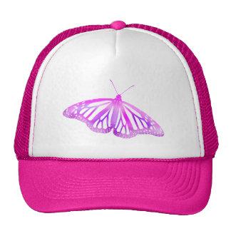 Pink Butterfly Trucker Hat