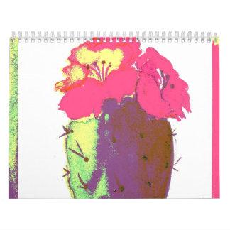 Pink Cactus 2011 Calendar