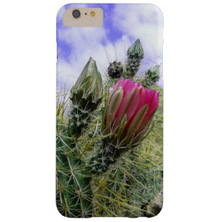Pink Cactus Flower Barely There iPhone 6 Plus Case