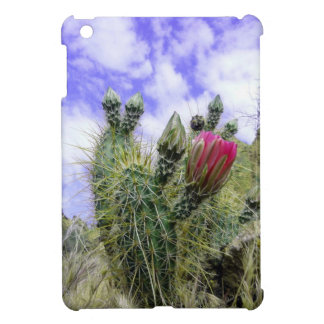 Pink Cactus Flower iPad Mini Cases