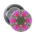 Pink Cactus Flower Pins