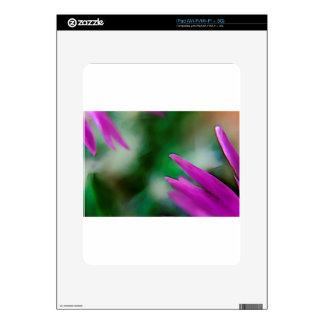 Pink Cactus Petals iPad Skin