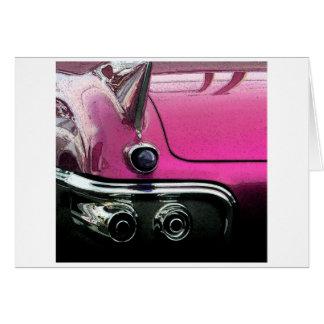 Pink Cadillac Card