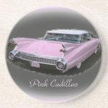 Pink Cadillac Flash Beverage Coaster