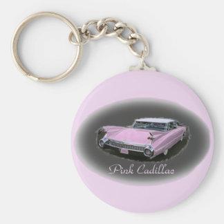 Pink Cadillac Flash Keychain