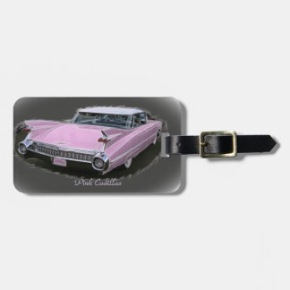 Pink Cadillac Flash Luggage Tag