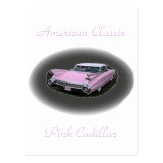 Pink Cadillac Flash Postcard