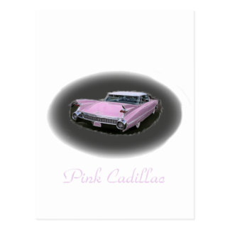 Pink Cadillac Flash Postcard