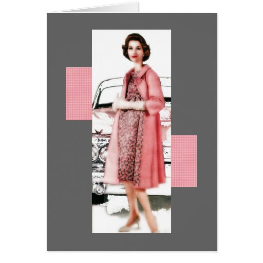 Pink Cadillac Lady Cards
