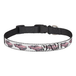 Pink Cadillac Pet Collar