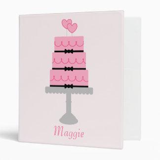 Pink Cake Binder