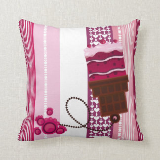 Pink Cake + ice Cream Pillow