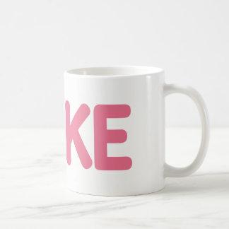 {Pink} Cake Mug