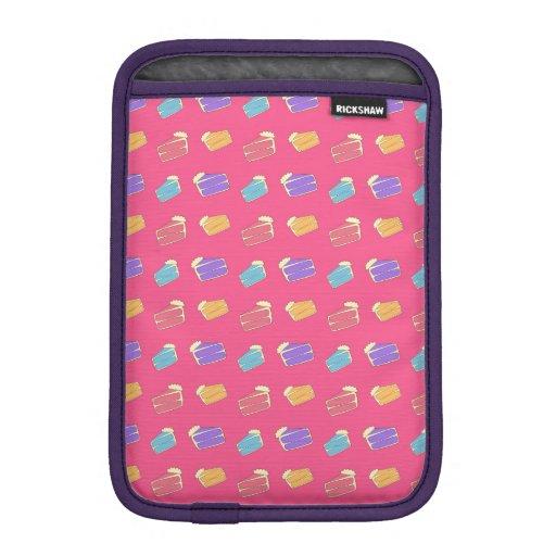 Pink cake pattern iPad mini sleeve