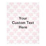 Pink Cake Pattern with Custom Text. Flyer