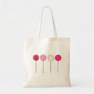 Pink Cake Pop Pops Valentine's Day Love Foodie Tote Bag