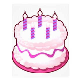 Pink CAKE  Sweet Celebrations Letterhead