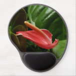 Pink Calla Lily Elegant Floral Photography Gel Mouse Pad