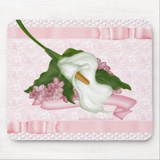 Pink Calla Lily Mousepad