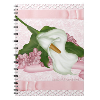 Pink Calla Lily Notebook