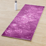 Pink Calm Your Mind Mandala Purple Yoga Mat