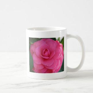 Pink Camelia Classic White Coffee Mug