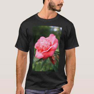 Pink Camelia Flower T-Shirt