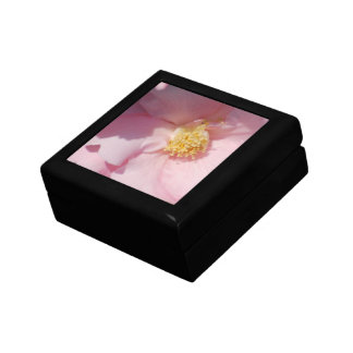 Pink Camelia Trinket Boxes