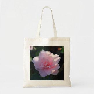 Pink Camelia Tote Bag