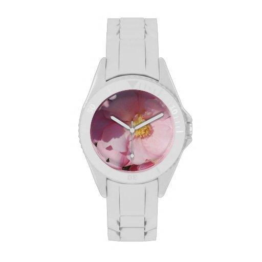 Pink Camelia Wristwatch