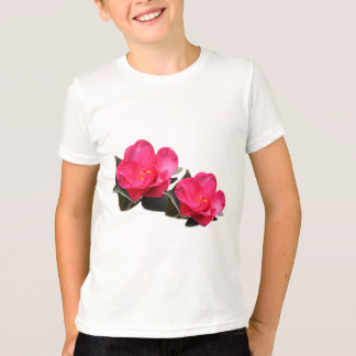 pink camellia flowers T-Shirt