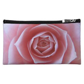Pink Camellia Makeup Bag