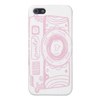 Pink camera Iphone case