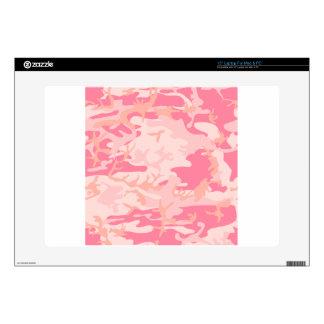 """Pink Camo 15"""" Laptop Decal"""