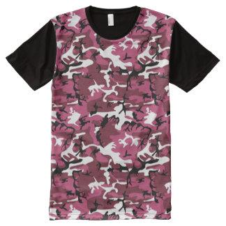 Pink Camo All-Over Print Shirt