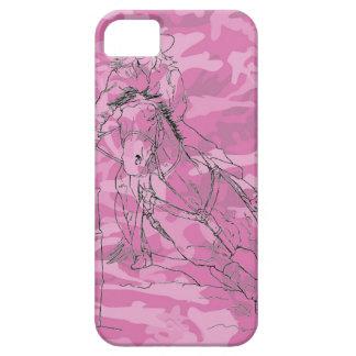 Pink Camo Barrel Racer II - iPhone 5/5S Case