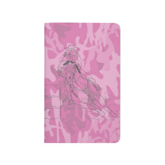 Pink Camo Barrel Racer Journal