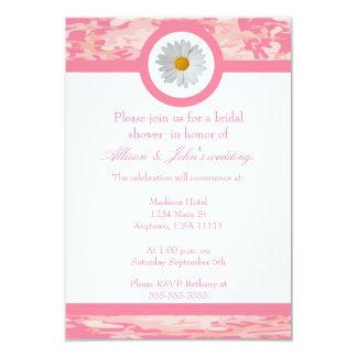 Pink Camo Bridal Shower Invitation