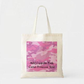 Pink Camo Camoflauge Tote Bag