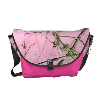 Pink Camo Camouflage Hunting Girl Bag Tote Purse Messenger Bags