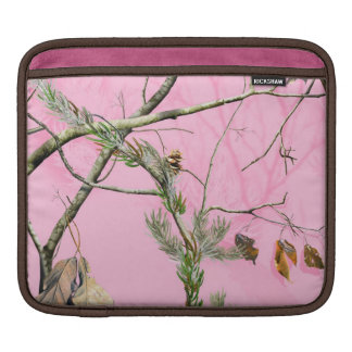 Pink Camo Camouflage Hunting Girl IPAD Laptop Bag Sleeves For iPads