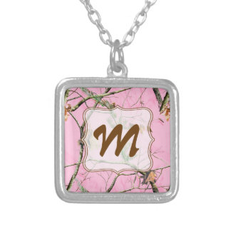 Pink Camo Camouflage Hunting Girl Real Necklace