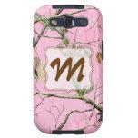 Pink Camo Camouflage Monogram Samsung Galaxy S3 Samsung Galaxy S3 Case