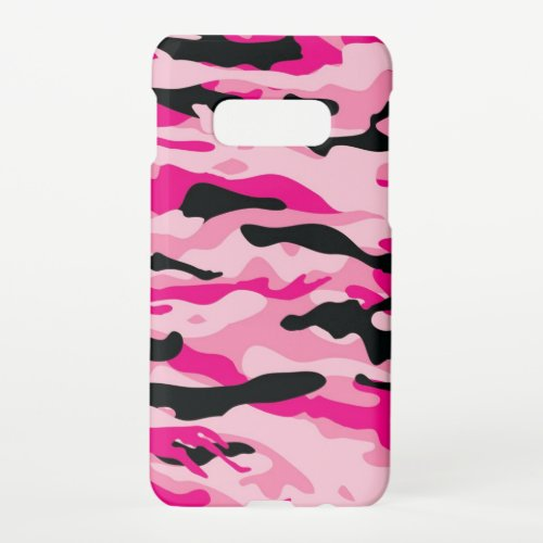 Pink Camo Camouflage Phone Case