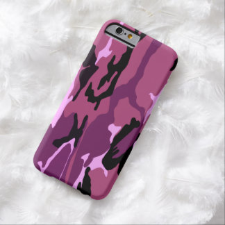 Pink Camo Barely There iPhone 6 Case