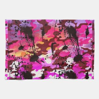 Pink Camo Counter Attacker Towel