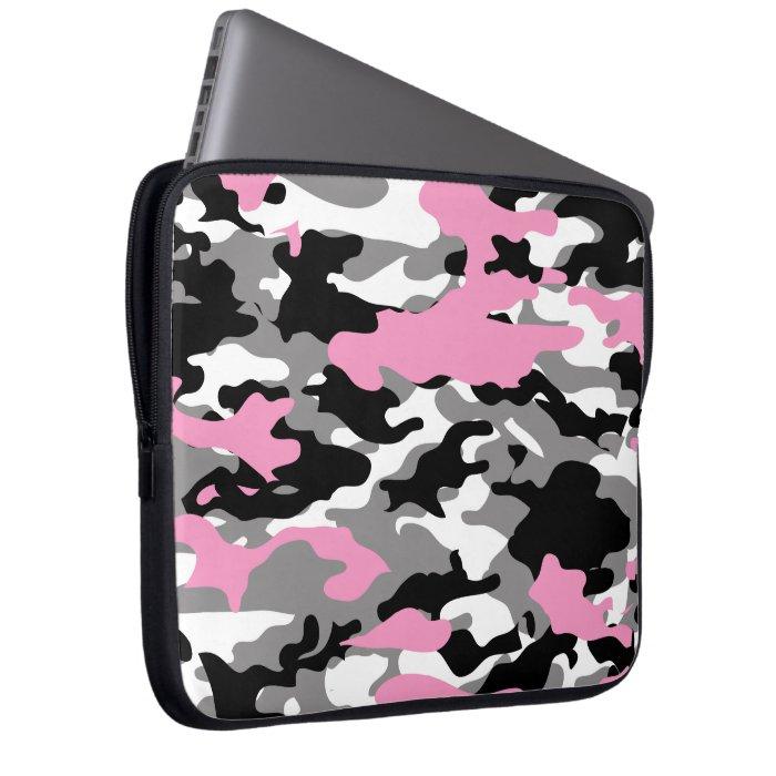 PINK CAMO - Electronics Bag Computer Sleeve