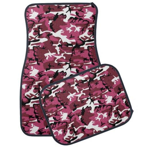 Pink Camo Floor Mat
