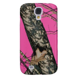Pink Camo Galaxy Case Samsung Galaxy S4 Covers